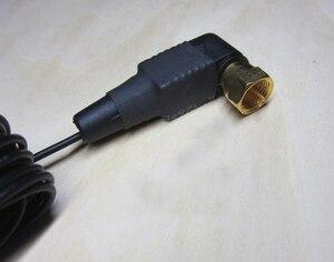 """Image 3 - 3 metrów pozłacane śruby FM anten wewnętrznych mężczyzna """"F"""" złącze 75 Ohm anteny nadaje się do radia odbiornik wzmacniacz audio"""