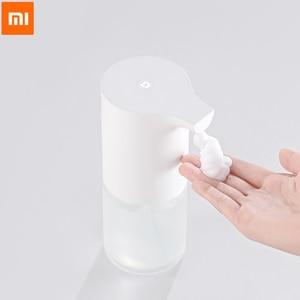 Image 1 - Dispensador de jabón automático Xiaomi Mijia, Sensor infrarrojo para casa, oficina y Hotel