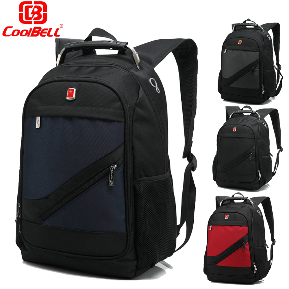 ФОТО 2017 Coolbell classic style Laptop bag 15.6 inch Backpack School Student Mochila women Men's Daypack Bag Pack Laptop Backpack