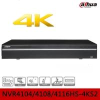 4 8 16 Channel Compact 1U 4K H 265 Lite Network Video Recorder Dahua Cctv Video