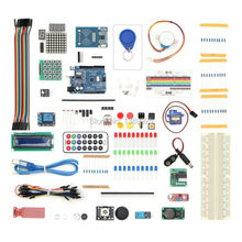Free Shipping 2017 RFID Starter Kit for Arduino UNO R3 Upgraded Version Learning Suite Kit With touch module gift