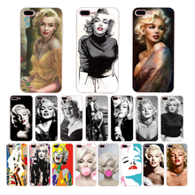 Marilyn Monroe soft cover for iphone 7 8 6s 6 plus phone case x xr xs max se 5s 5 silicone classic Coque lovely Sexy shell silicone phone case fashion sexy marilyn monroe printing for iphone xs xr max x 8 7 6 6s plus 5 5s se phone case matte cover