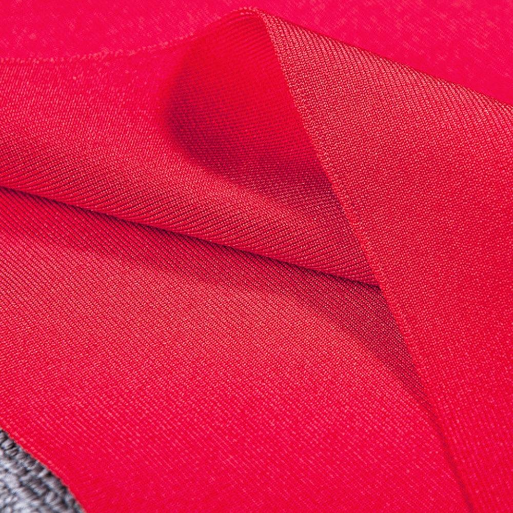 Nuovo Mini 2018 Fasciatura rosso Nero Vestito Rayon Dalla Croce Partito Il Elastico Arrivo Più Commercio Del cachi Collo All'ingrosso Rossa ZAnqWv8np