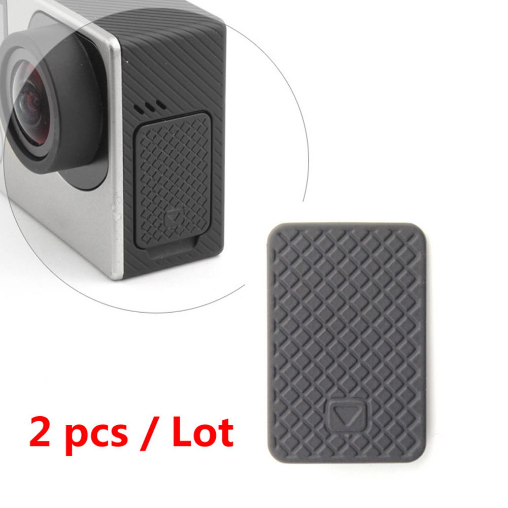 2pcs/lot USB Side Door Cover Replacement For Go Pro Hero 4 3+ 3 Black Practical