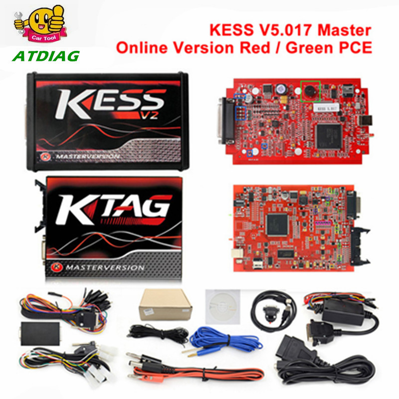 DHL free Online Master Red Ktag V7 020 V2 23 No Token Limit K Tag 7