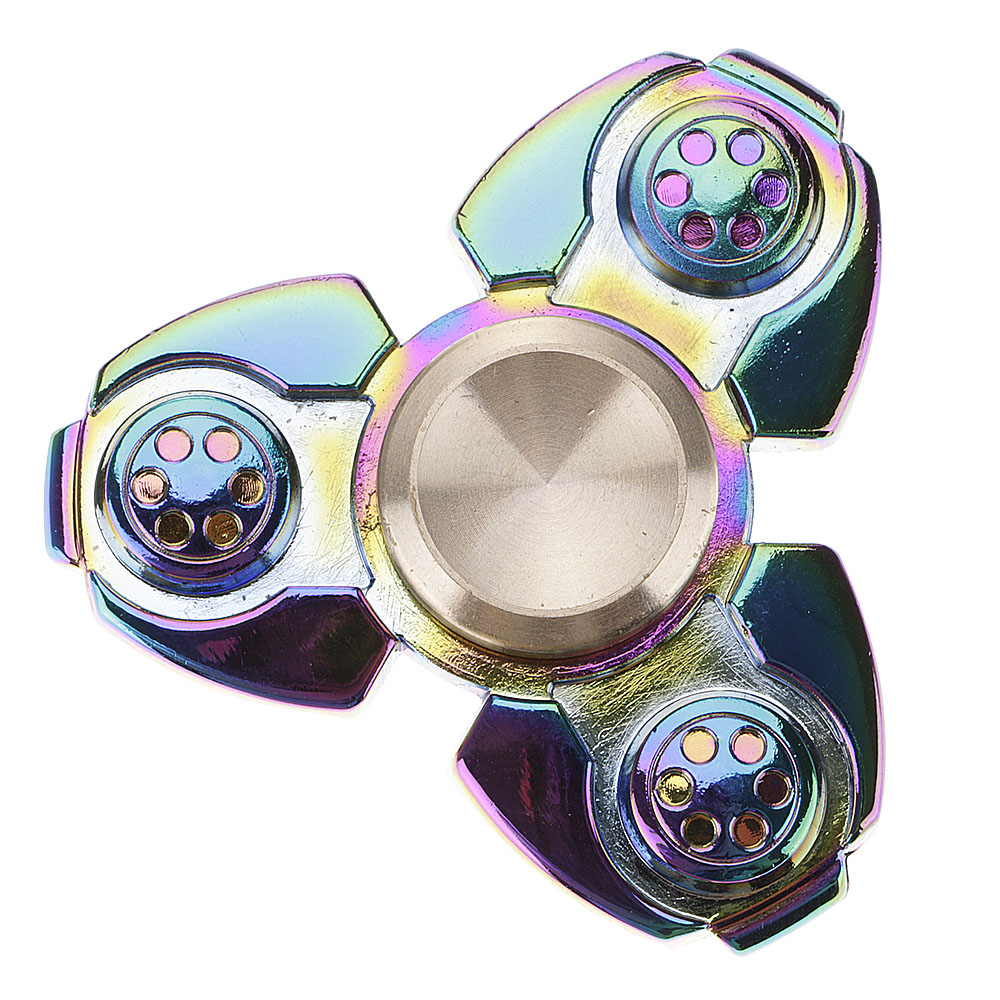 Russian Style Colorful ADHD Anxiety Autism Stress Reducer Fidget Hand Spinners