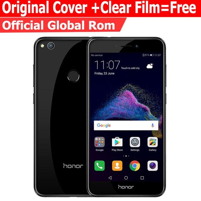 """Глобальный ROM Huawei Honor 8 Lite 3 ГБ 32 ГБ мобильный телефон 4 г LTE Octa core 5.2 """"1920*1080 P сзади 12.0mp 3000 мАч отпечатков пальцев ID"""