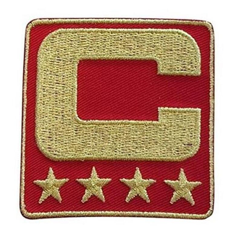 bb166bc709535 2017 capitaine signe C Patch fer ou couture sur pour Jersey Football  Baseball Football Hockey crosse basket plaque signalétique patch dans  Bavoirs de Mère ...