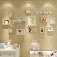 Photo Wall Decoration European Style Racks Photo Frame Wall Living Room Restaurant Photo Wall Creative Combination