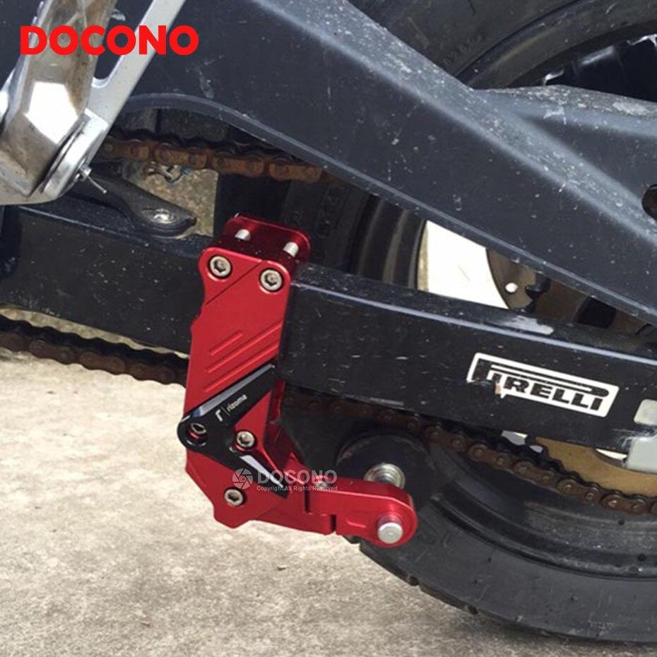 DOCONO Motorcycle CNC Aluminum Chain Auto Tensioner For Honda Cbr 150r 250r 300r 400r 500r 600f 600rr 1000rr Cb400 Vfr 800 Crf