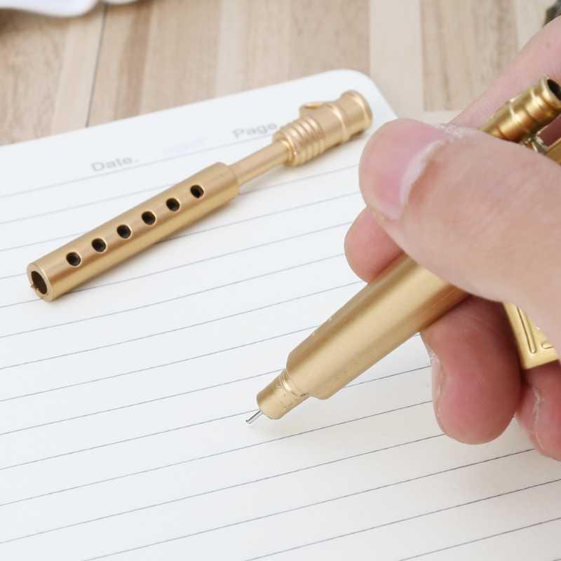 Yenilik jel kalem silah şekli tükenmez kalemler ofis okul tedarik kırtasiye hediye