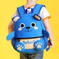 3 8 Yrs Kids Children Backpack 3D Teddy Bear School Monster Bags Plush Toys Snacks Milk Backpacks Kindergarten Kids Mochila