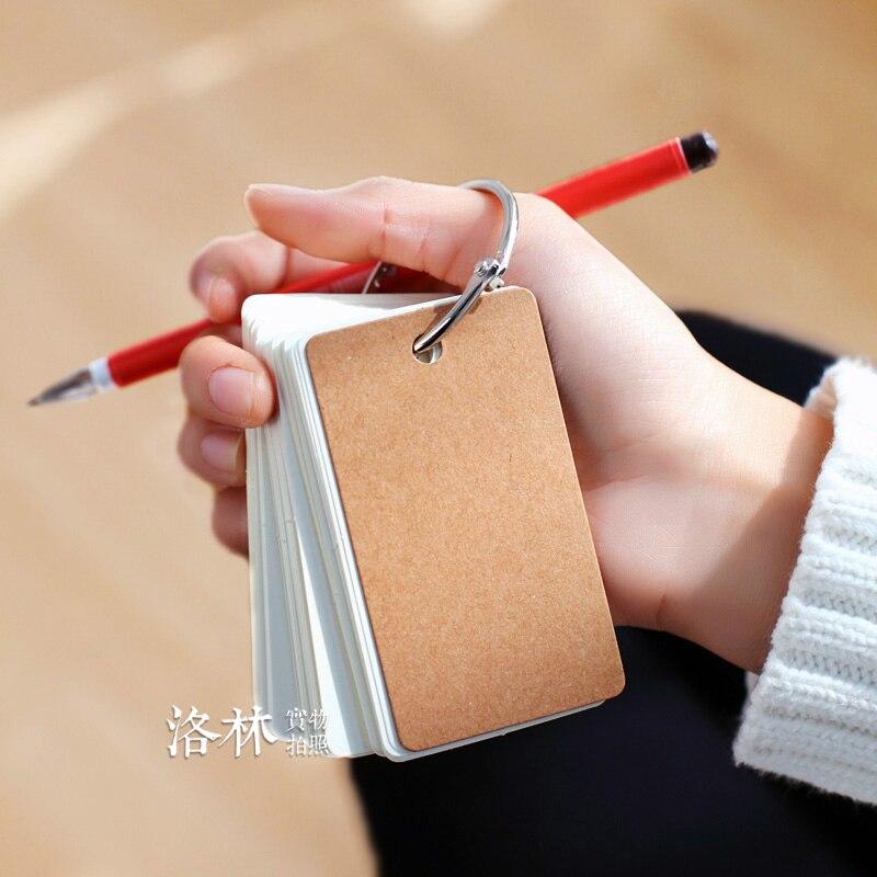 Купить короткие двухцветные картонные слова эти блокноты для записей