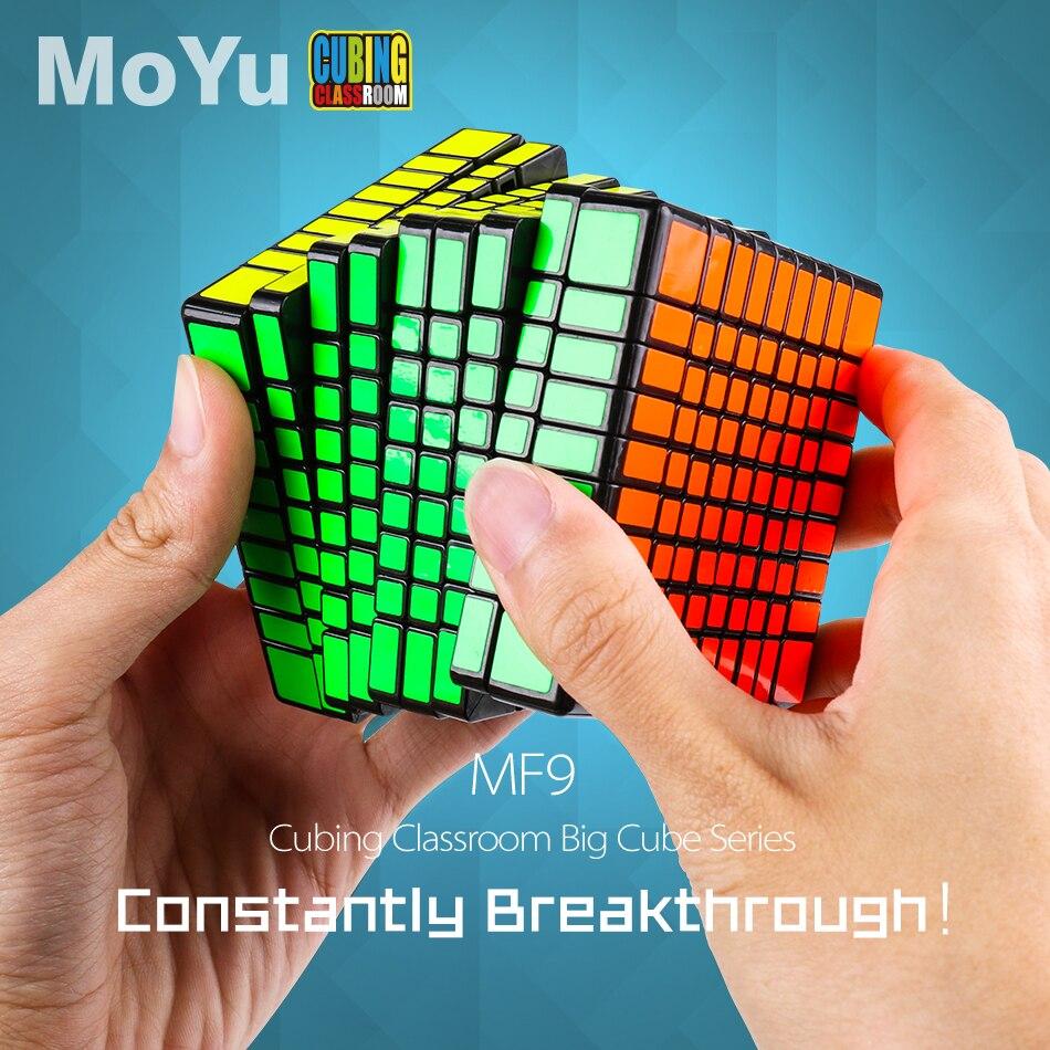 Konfon Sole MOYU MF9 9x9x9 75MM Cube de Puzzle magique 5 pièces costume Neo Cube adulte enfants jouet éducatif cadeau de Festival d'anniversaire - 2