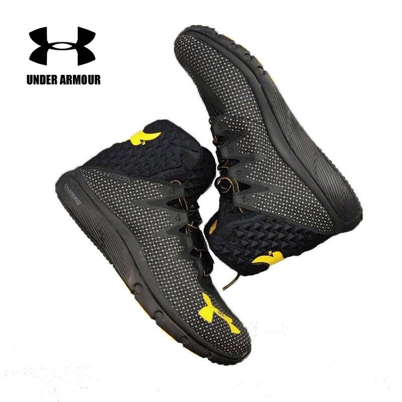 Sous Blindage de Basket-Ball Chaussures UA PROJET ROCK DELTA ADN Sport Sneakers Hommes En Plein Air Moyen Top Johnson Rembourrage De Chaussures