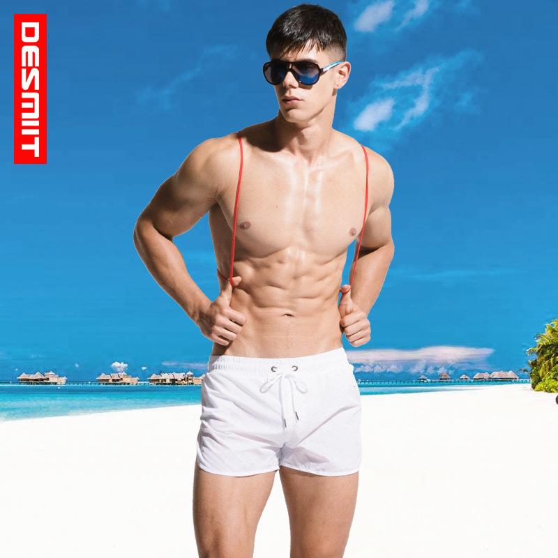 2018 Mens Swimwear Swim   Shorts   Trunks Beach   Board     Shorts   Swimming   Short   Pants Swimsuits Mens Running Sports Surffing   shorts