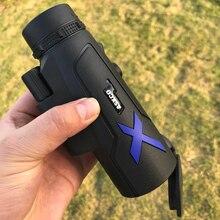 Monoculaire 20x50 jumelles puissantes haute qualité Zoom grand télescope de poche lll vision nocturne militaire HD professionnel chasse