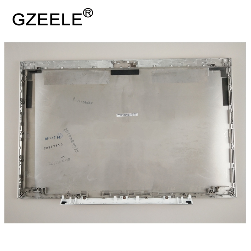 GZEELE NEW Laptop Top LCD Back Cover case for SONY for vaio SVS151 025-200A-2789-A SILVER new original top cover for vaio svf15a svf15ac1ql svf15aa1ql svf15a100c svf15a190x svf15a19scb svf15a16cxb lcd back cover