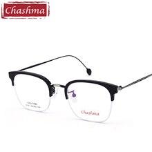 Chashma Brand Designer Eyeglasses Quality TR 90 Optical Glasses frames Student Stylish Eyewear frame Men and Women