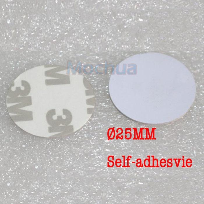 NFC Tag NTAG215 Disc Tag PVC With Self-adhesive For Tagmo