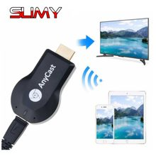 Anycast M2 Plus Draadloze HDMI Media Video WiFi 1080P Display Dongle Receiver Android Adapter TV Stick met DLNA Airplay miracast(China)