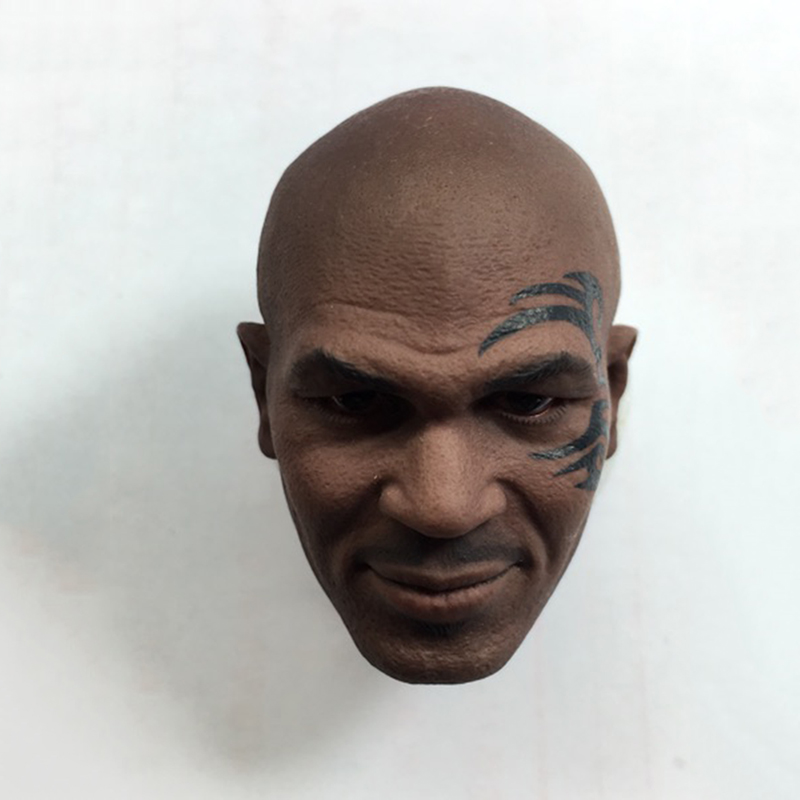 1/6 Mike Tyson Head Sculpt with Tatoo fit 12 Strong Bodies брюки tyson triton брюки