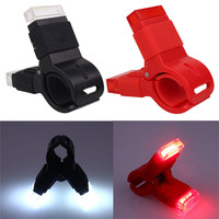 USB Charging Mountain Bike Light COB Super Bright Mountain Tail Light Built-in 300mah Polymer Battery A2