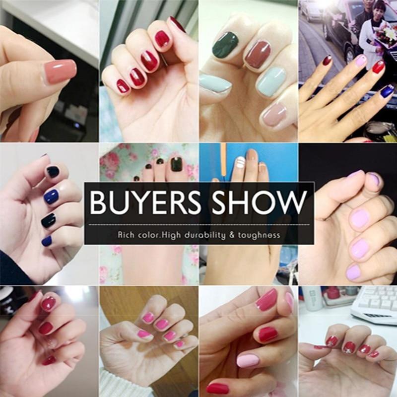 Zation Colorful UV Gel Polish Nail Art Gel Nails Polish Colors ...