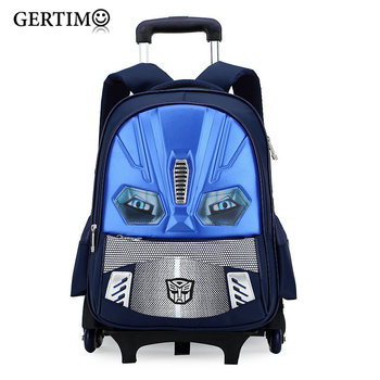 Kids Wheels Removable Trolley Backpack Wheeled Bags Children School Bag Boys Travel Bags Children's School Backpacks mochilas kids wheels removable trolley school backpack children school bags girls kids travel bag princess schoolbag mochilas escolares