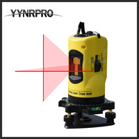 YYNRPRO Factory Direct Free Shipping Household 2 Lines Cross Laser Level 360 Rotary Cross Laser Line
