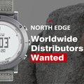 North edge hombres del reloj digital de deporte horas correr natación relojes altímetro barómetro brújula termómetro tiempo podómetro