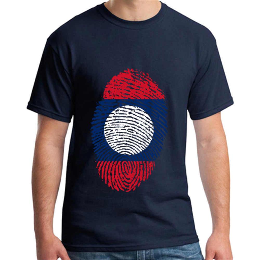 Лаосский флаг отпечатков пальцев мужские футболки crossfit BTS бейсбол Джерси 3d мужские s футболки Kanye West camisa