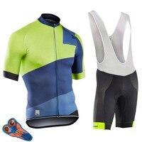 NW  лето 2019  комплект Джерси с коротким рукавом  нагрудник  шорты для мужчин  MTB  велосипедная одежда  Maillot Culotte  одежда  спортивная одежда  компл...