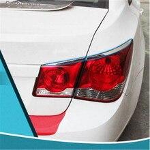 Cotochsun автомобильный Стайлинг, задний светильник из нержавеющей стали, декоративная наклейка, чехол для Chevrolet Cruze sedan 2009-, автомобильные аксессуары