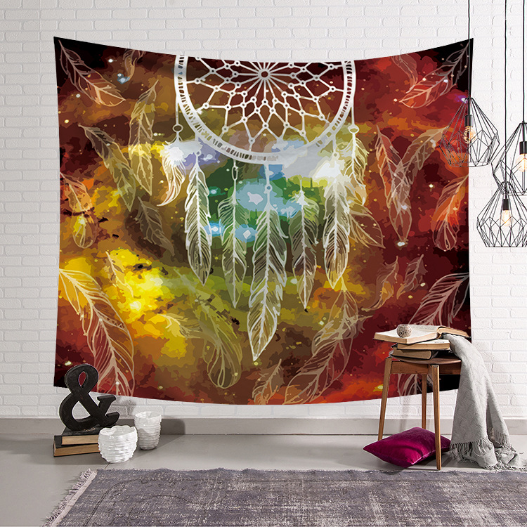 Fashion Mandala Macrame Bohemian Sandy Beach Picnic Rug Bedroom Blanket Decor Curtain Table Cloth Yoga Mat Wall Hanging Tapestry in Tapestry from Home Garden