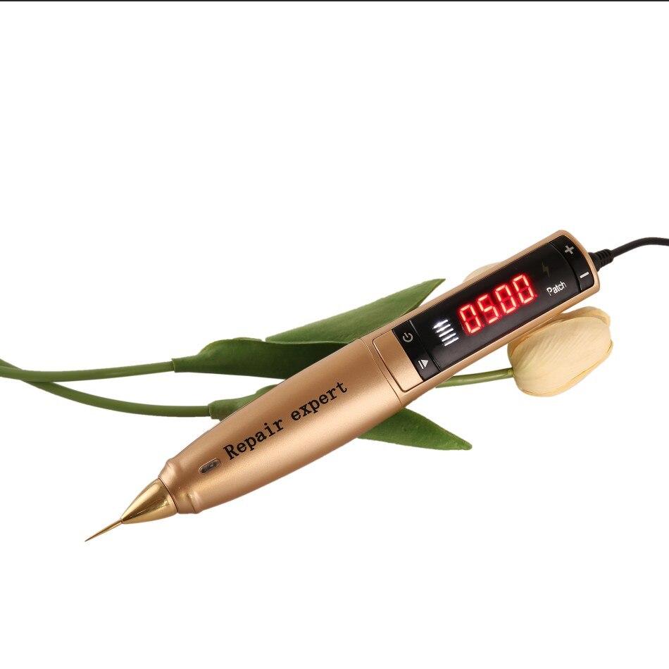 2019 plasma Portable2 em 1 Máquina Da Beleza do rejuvenescimento da pele caneta olho elevador chuveiro com agulhas
