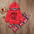Kids Babies House Clothes 2 pcs Top + Pants Babies Cotton Clothing Set Girls Long Sleeve Tracksuits Winter Spring Kid Clothes