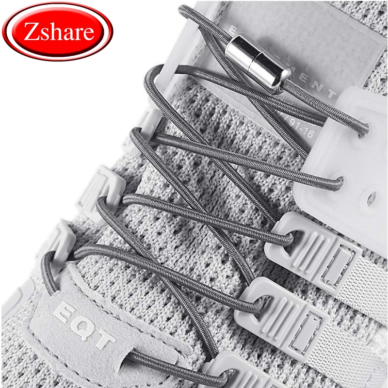 1Pair/ elastic shoelaces new simplicity no tie shoelaces round metal tip shoe laces leisure quick sport shoe laces unisex1Pair/ elastic shoelaces new simplicity no tie shoelaces round metal tip shoe laces leisure quick sport shoe laces unisex