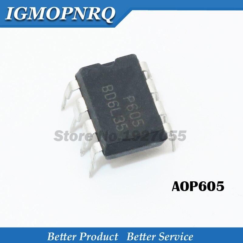 5pcs AOP605 DIP NEW