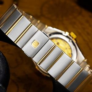 Image 4 - 2018 Men watch top brand luxury watch men Automatic brand Sapphire Stainless gold Mechanical watch waterproof Relogio Masculino