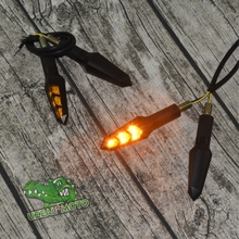 Prince motorcycle custom general universal LED high brightness turn signal cornering lamp lights three arrows indicators
