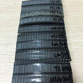 (14-05) Im allgemeinen gebrauch SMD IC 74HC04D 74HC14D 74HC595D 74HC164  LM324 74HC132 74HC32 LM339 T