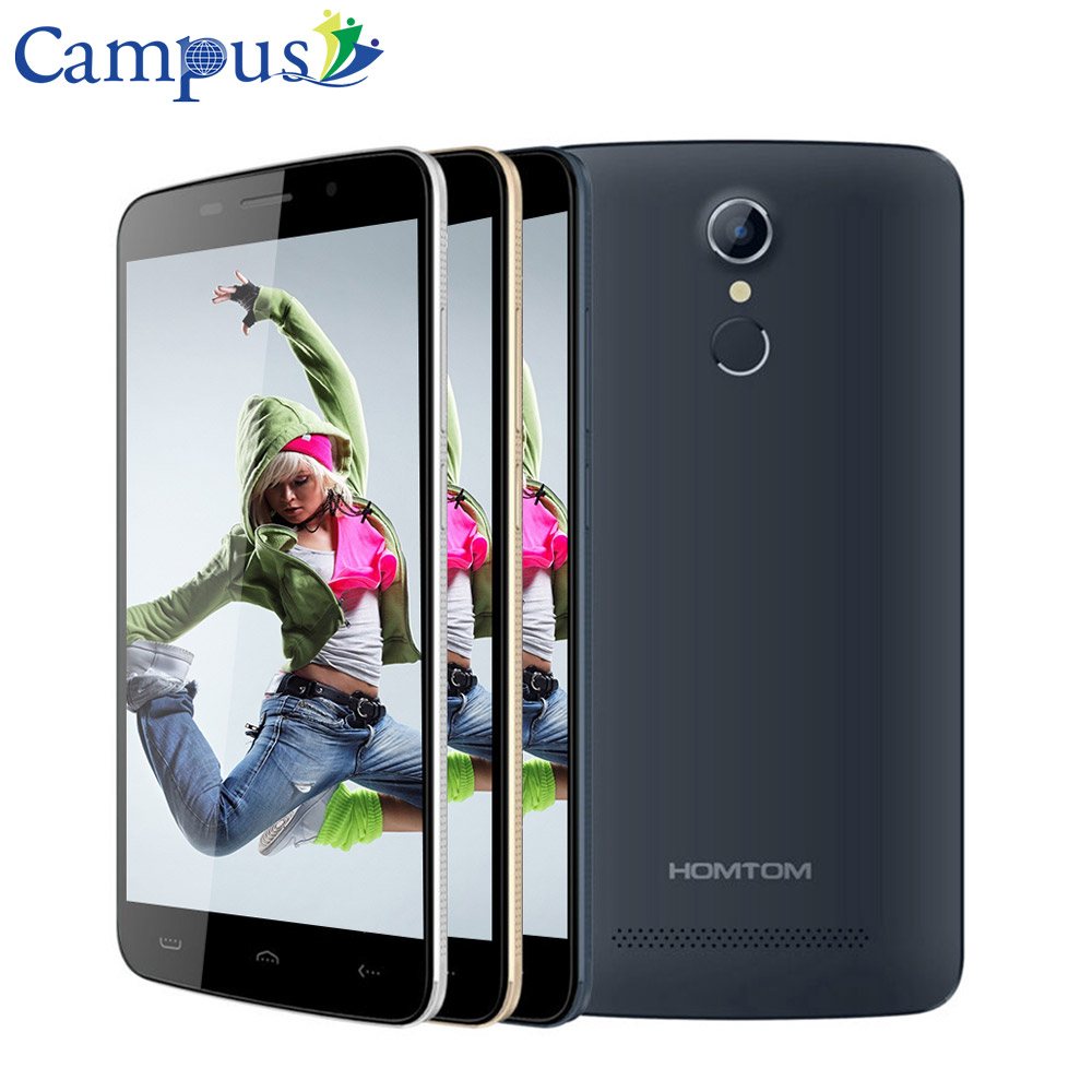 Campus HOMTOM HT17 4G Smartphone 5 5 HD Android 6 0 MTK6737 Quad Core 1GB 8GB