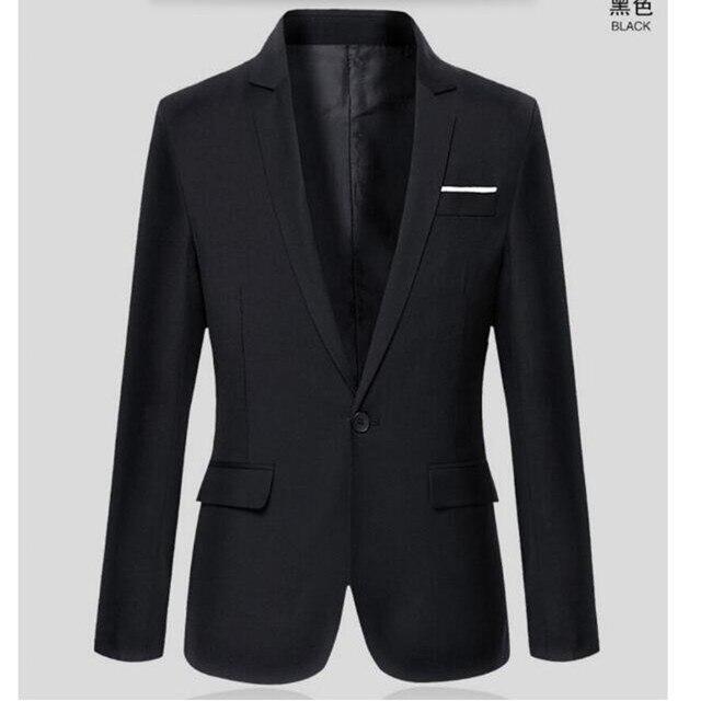 Весной и осенью сезон и leisure suit куртка деловых людей один пиджак топ пользовательские дешевые мужские костюмы