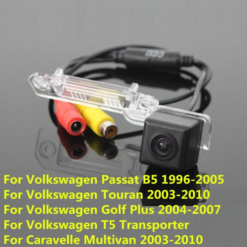 170Degree CCD Special Car RearView Reverse Camera For Volkswagen VW Passat B5 Touran Golf Plus T5 Transporter Caravelle Multivan