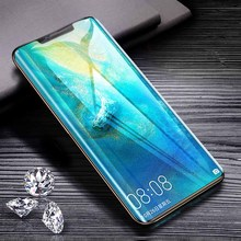 Screen Protectors For Huawei mate 20 pro HD arc surface tempered mobile phone film P30 Pro Protection Film