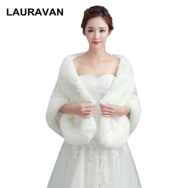 c9545ed34cc Warm faux fur Wedding Wrap Winter bride Cheongsam Stoles Shawl Bolero  Jackets Bridal Coat Evening Accessories Wedding Cape Coat