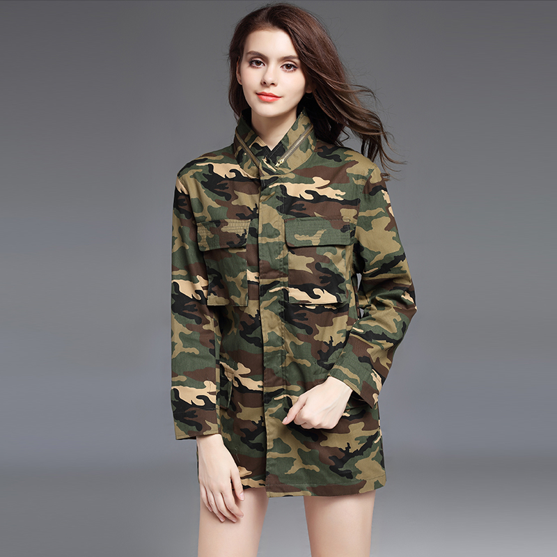 Sexy women in camouflage