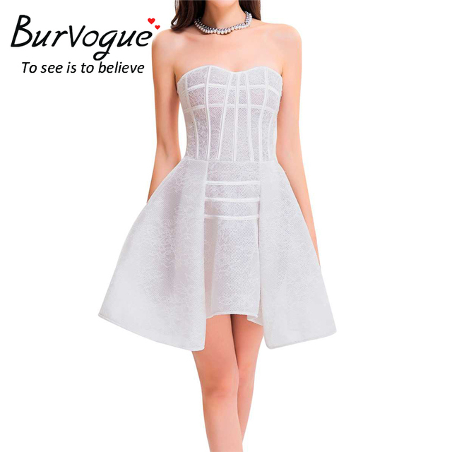 Burvogue Women Steampunk Corset Dress Evening Corset Dress Waist Control Corselet Overbust Corsets Bustier Top Gothic Corset