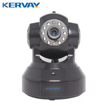 Kervay C7837WIP Black IP CCTV 720P Camera IR-Cut Night Vision Audio Surveillance LAN WiFi Security Camera IP Camera Infrared